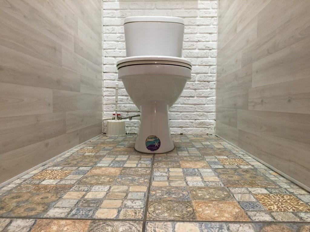 Ремонт туалета в сталинке