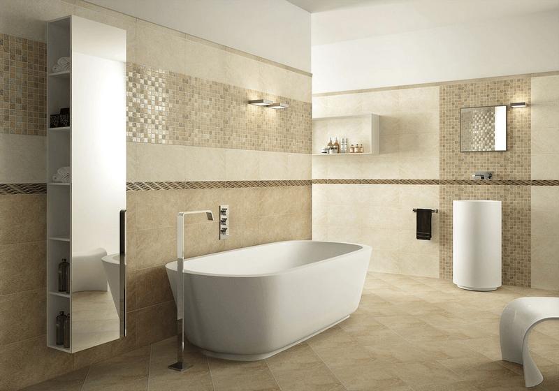Ремонт ванной с укладкой плитки или кафеля
